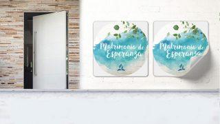 Adhesivos | Matrimonios de Esperanza