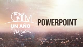 Powerpoint – Un año en misión 2021