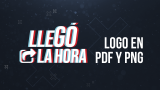 Logo en PDF y PNG – Tema JA 2021 – Llegó la Hora