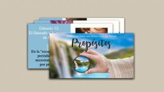 PPTx con Sermones: Propósitos | Miércoles de Poder 2021