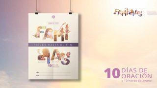 Afiche: 10 Días de Oración 2021