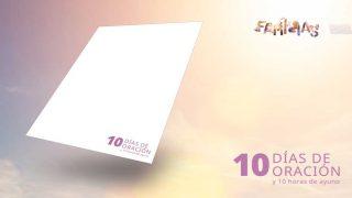 Logo en PNG: 10 Días de Oración 2021