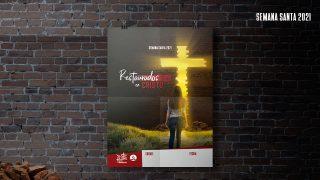 Afiche | Semana Santa Teen 2021