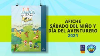 Afiche | Sábado del Niño y del Aventurero 2021
