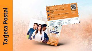 Tarjeta Postal | Sueña en Grande 2021