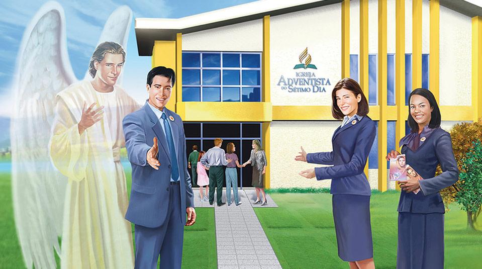 Livreto para Visitante: Ministério da Recepção 2012