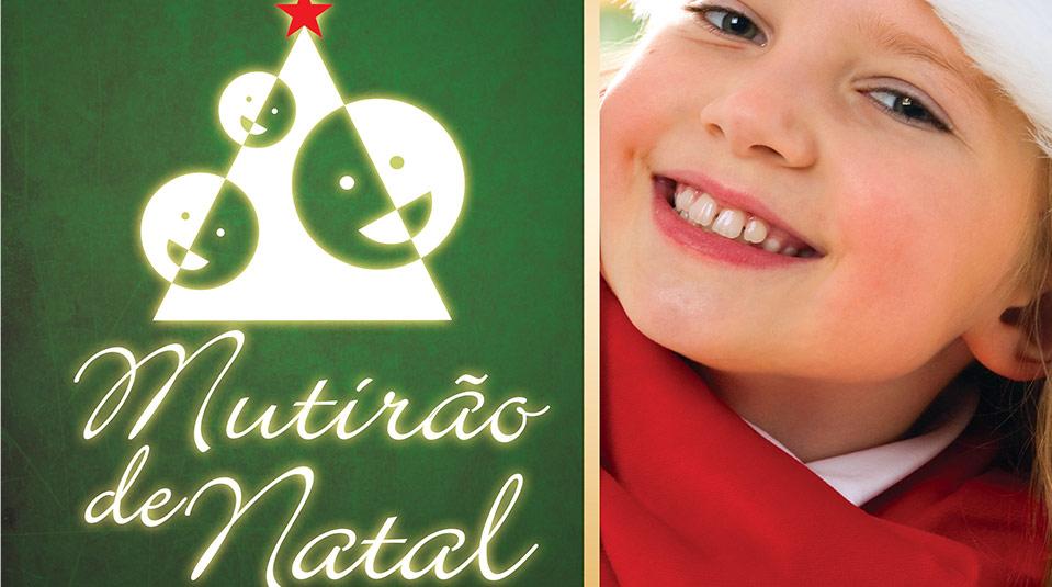 Cartaz: Mutirão de Natal