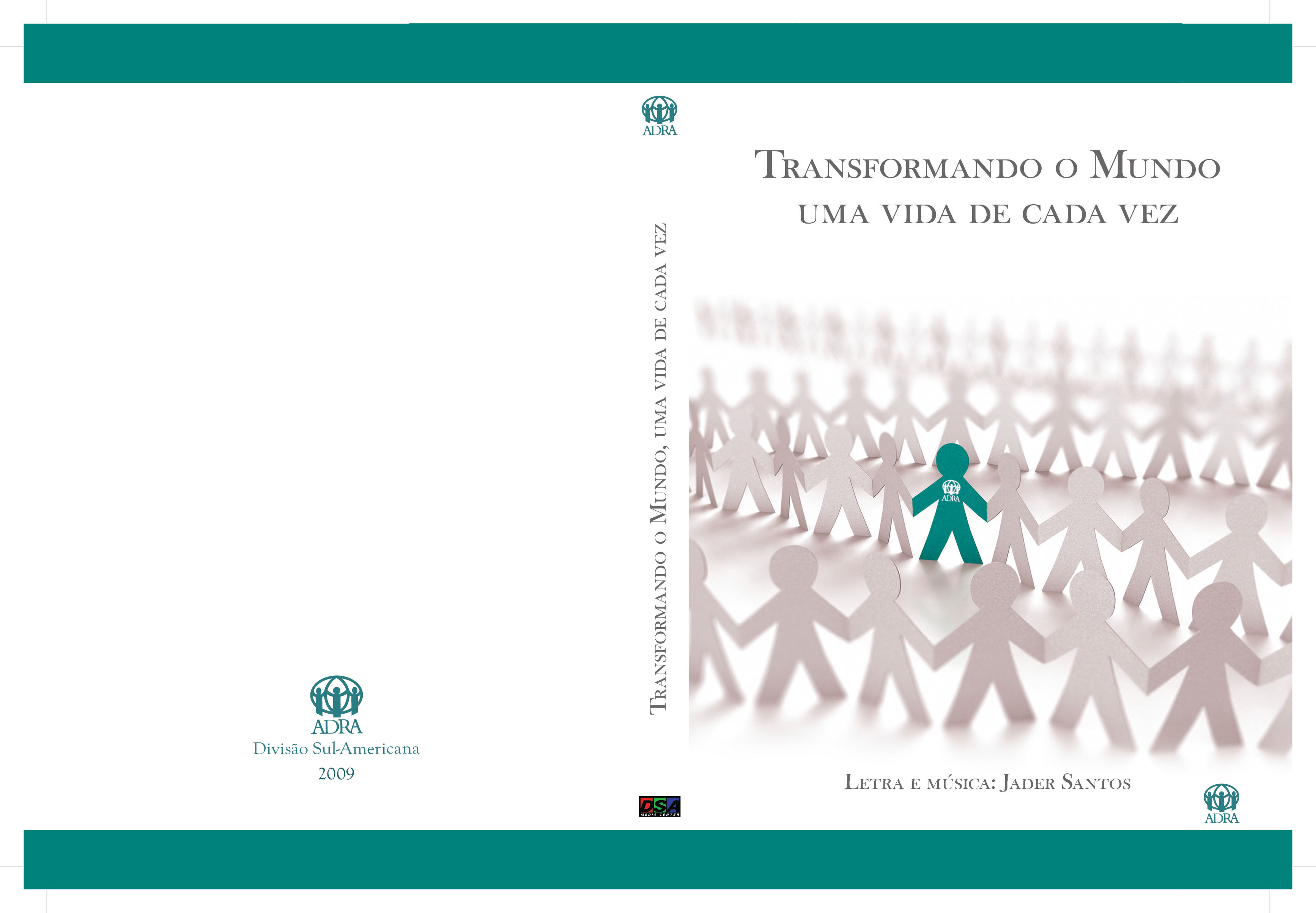 Capa do DVD – transformando o mundo
