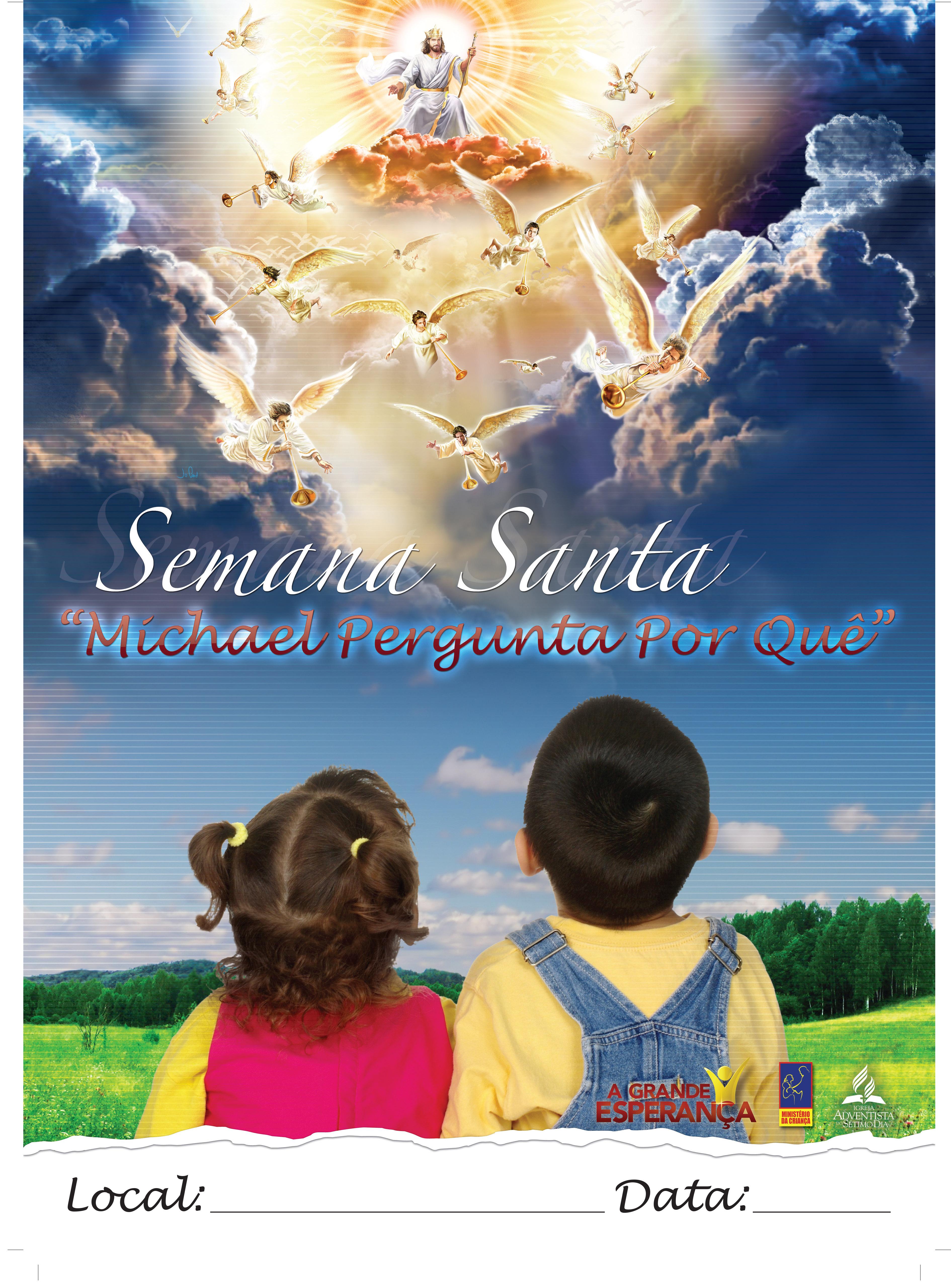 Cartaz.semana santa infantil