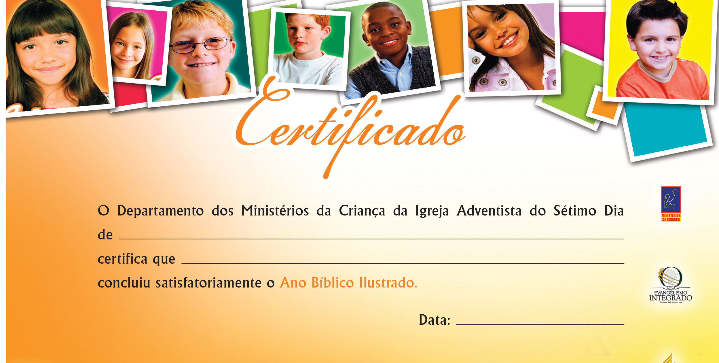 Certificado: Ano Bíblico