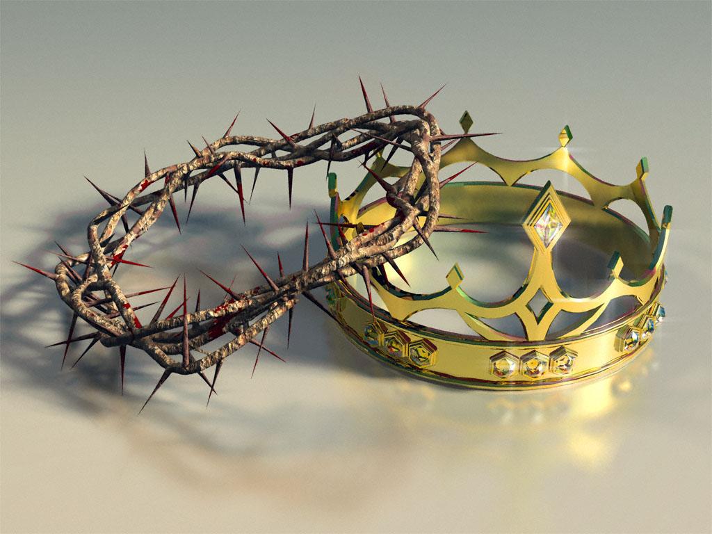 coroa de espinhos e coroa da vida