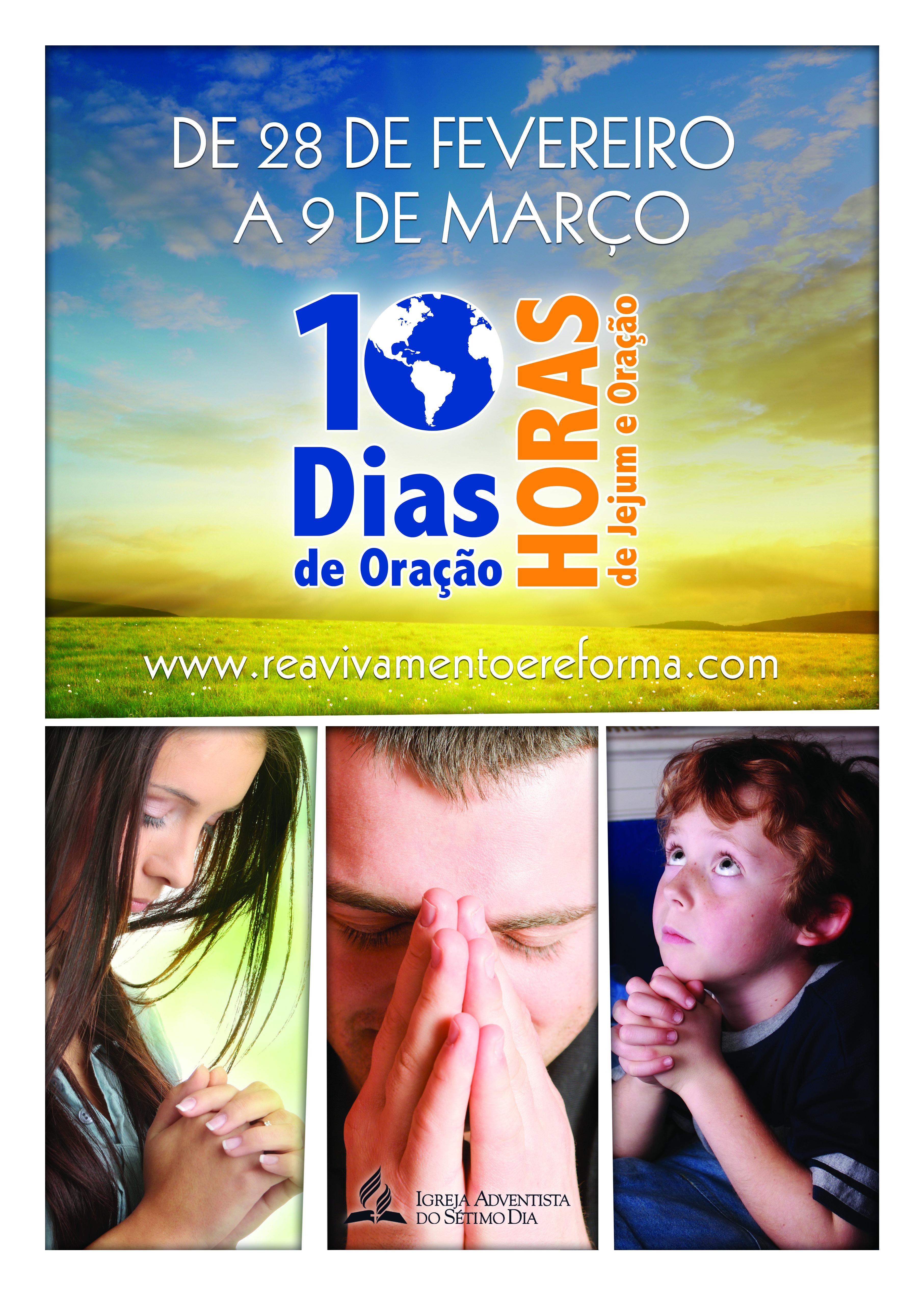 Livreto:  Dia de oração e jejum – 2013
