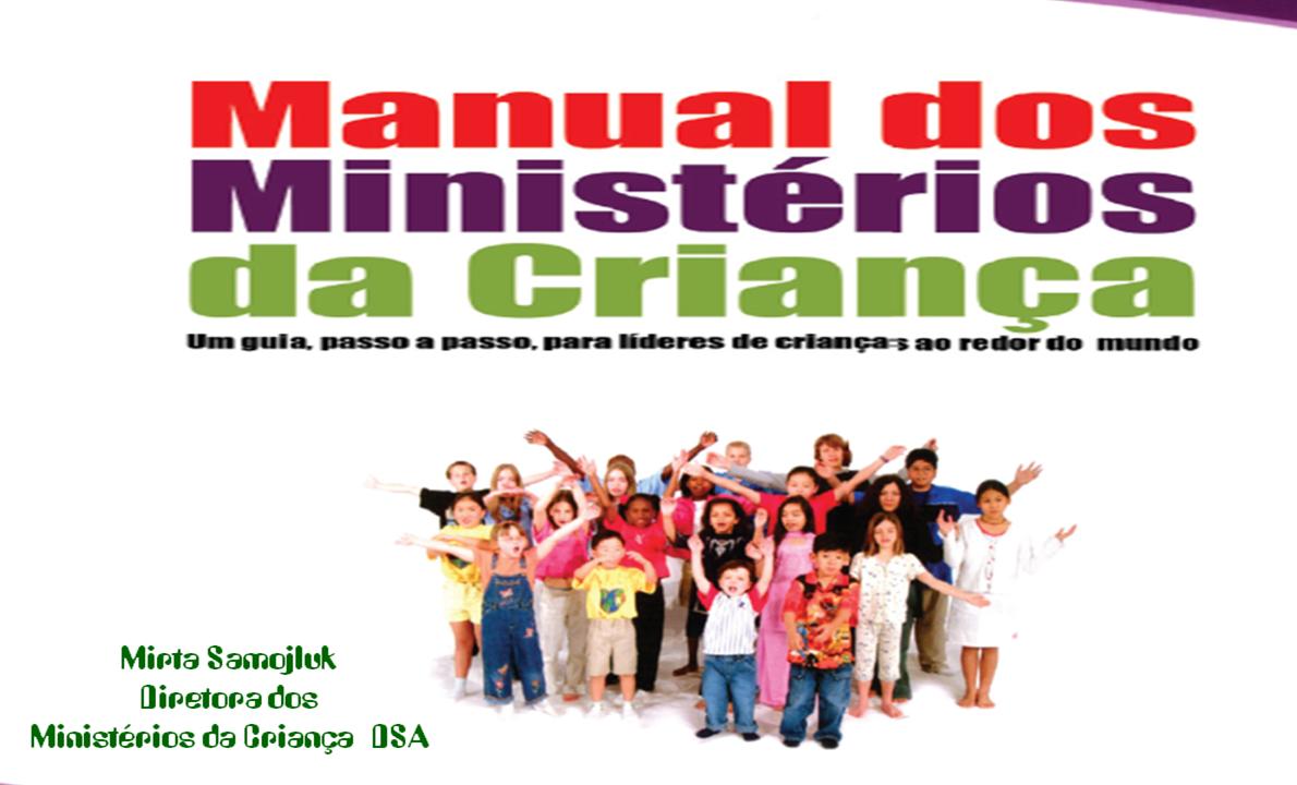 Manual: Líderes do Ministério da Criança