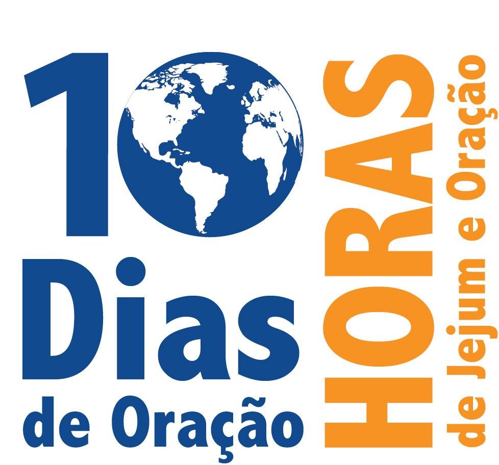 Logotipo 10 dias de oração – 2013
