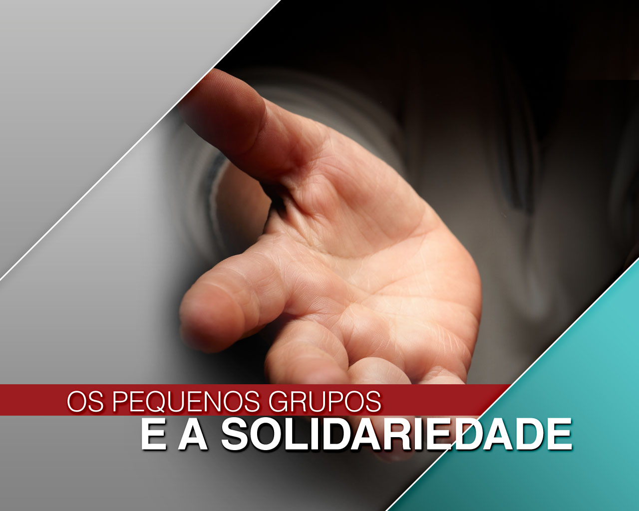 Os Pequenos Grupos e a Solidariedade