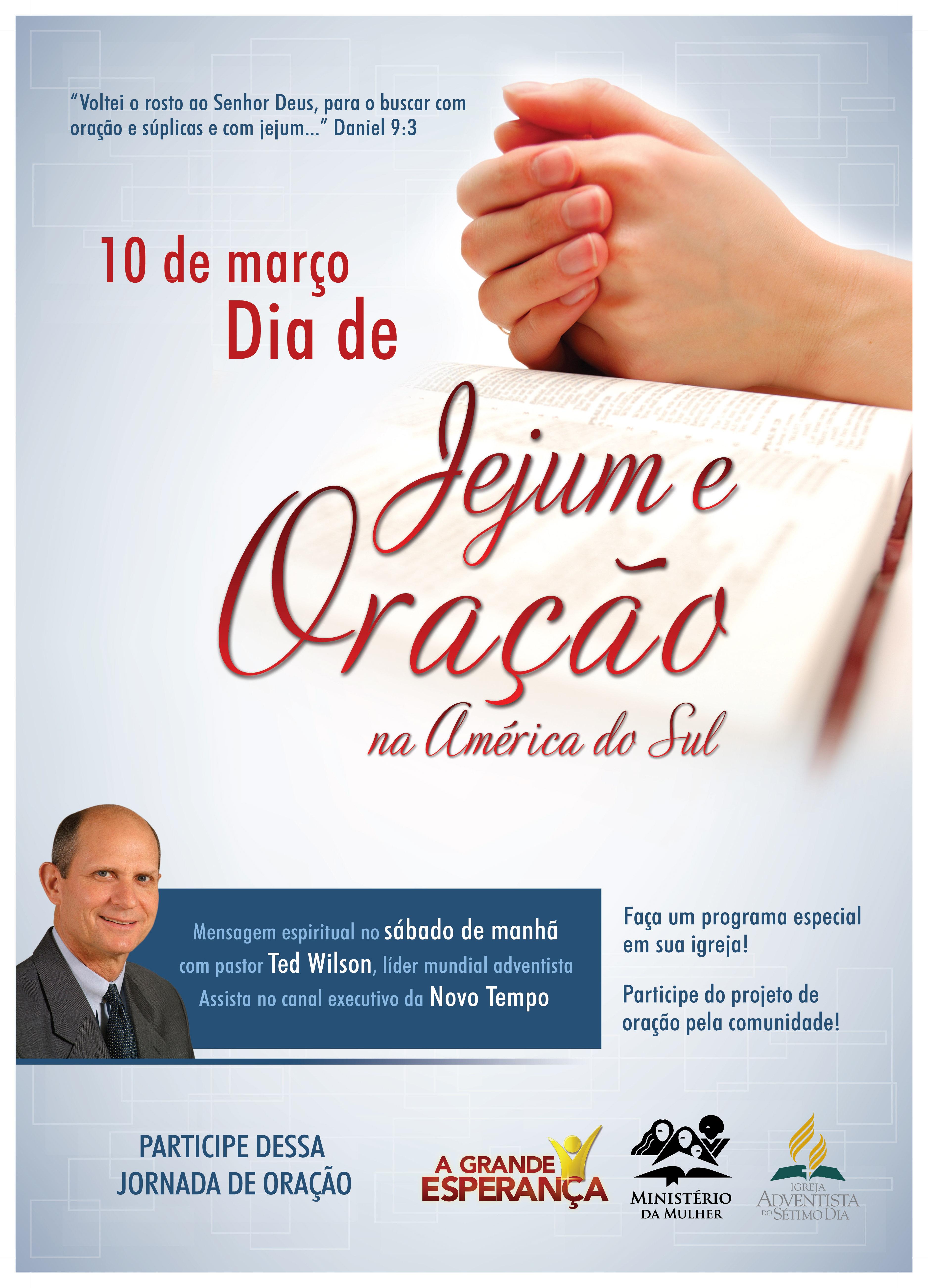 Livreto dia de jejum e oração – 2012