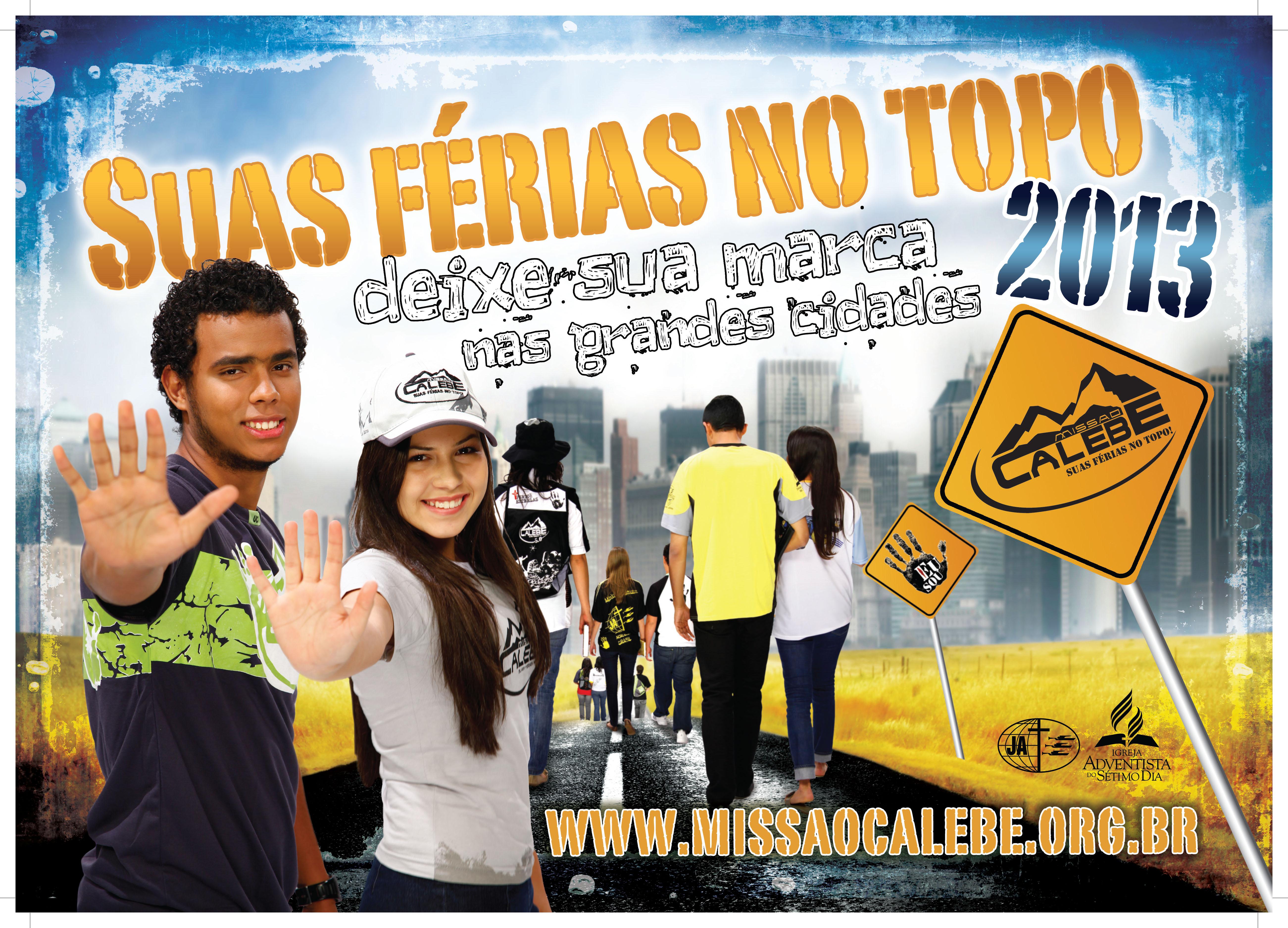 Cartaz – missão calebe 2013