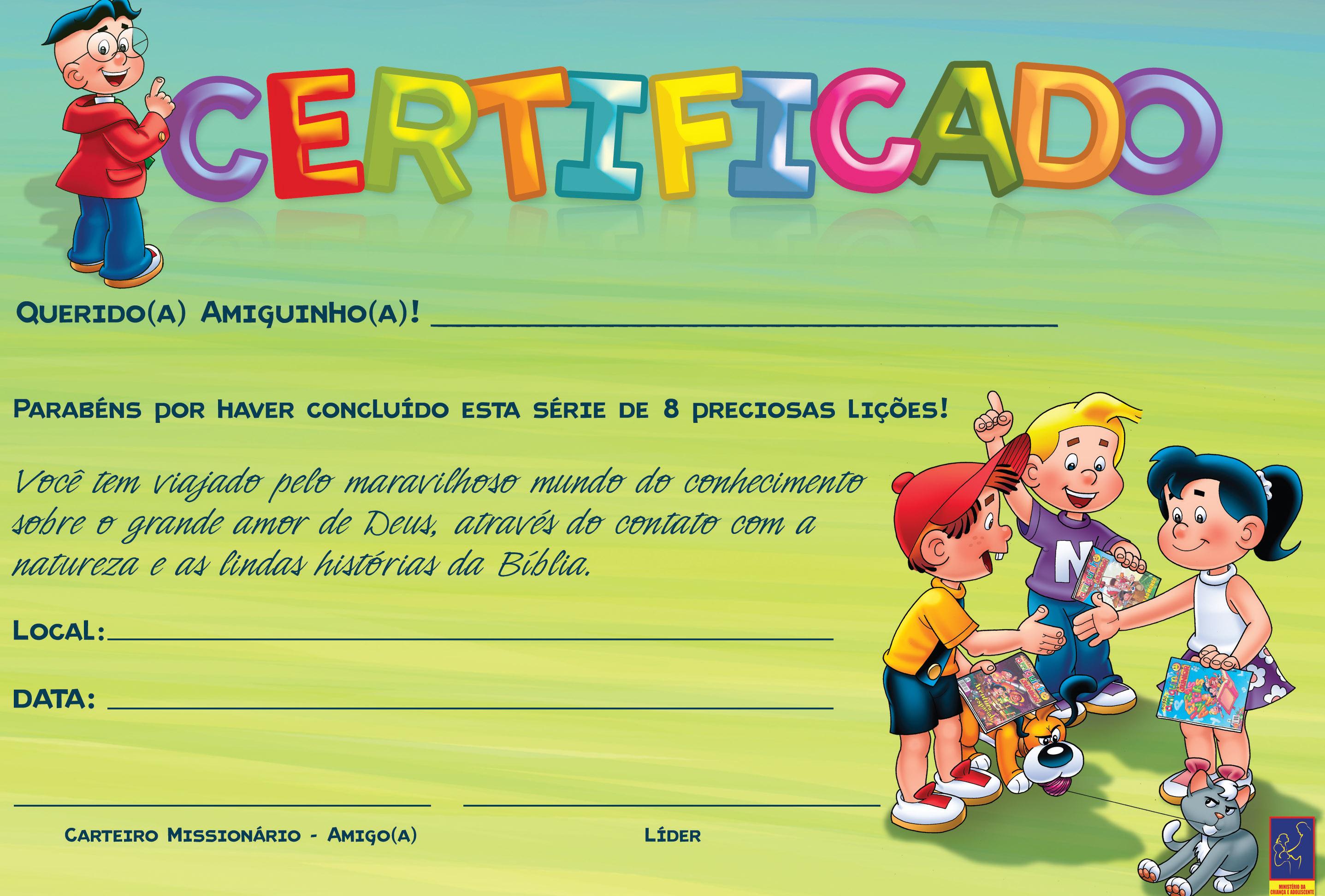 certificado CARTEIRO
