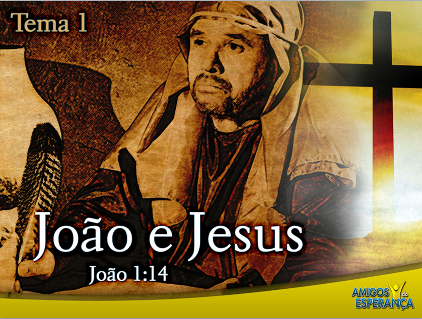 Slides 1: João e Jesus – Semana Santa 2011