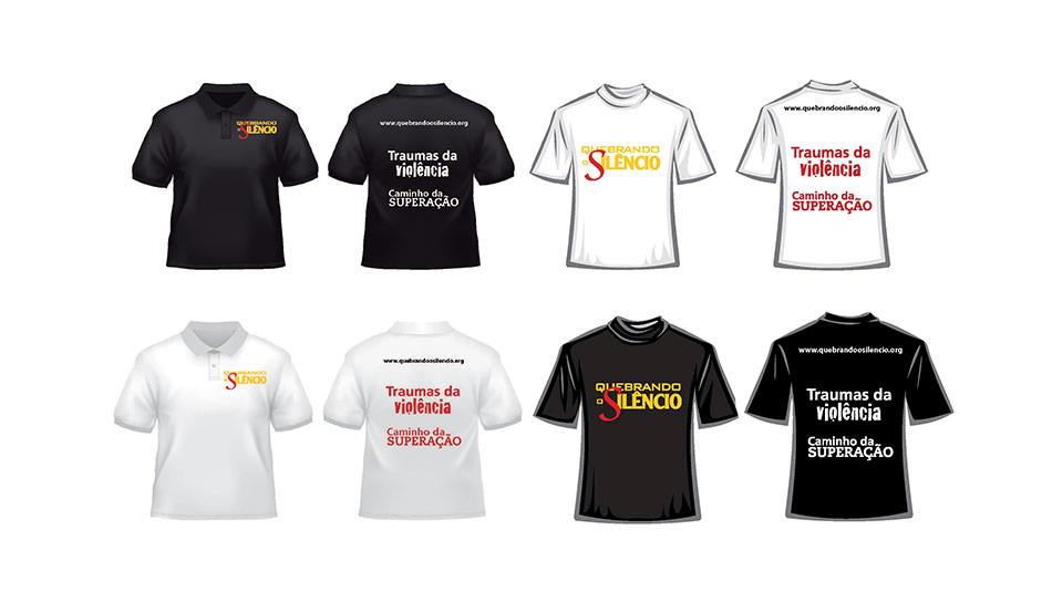 Camiseta: Quebrando o Silêncio 2013