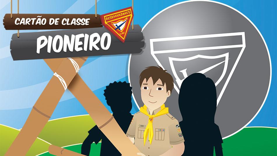 Capa do Cartão de Classe: Pioneiro