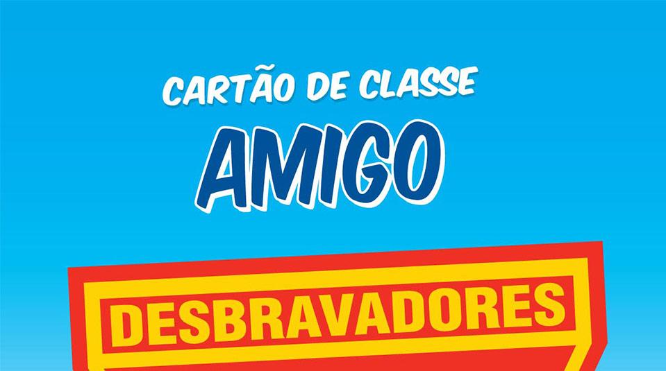 Capa do Cartão de Classe: Amigo