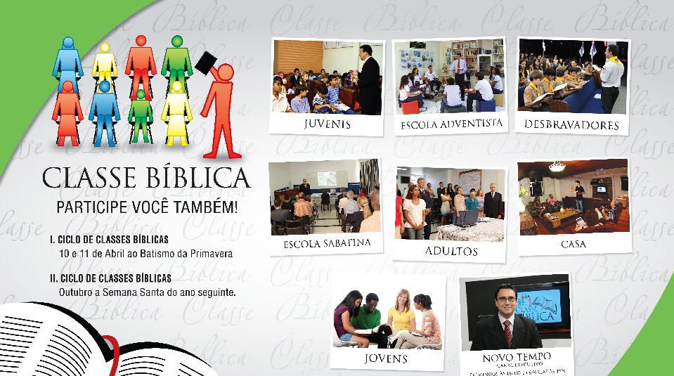 Cartaz: Classe Bíblica