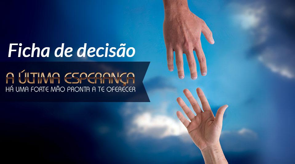 Cartão de Decisão: A Última Esperança 2013