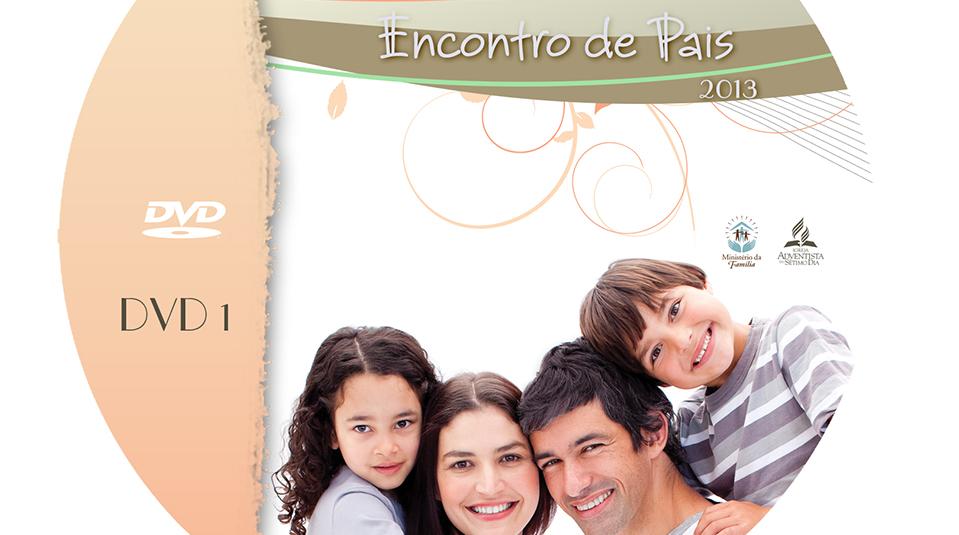 Capa e Label do DVD – Encontro de Pais 2013