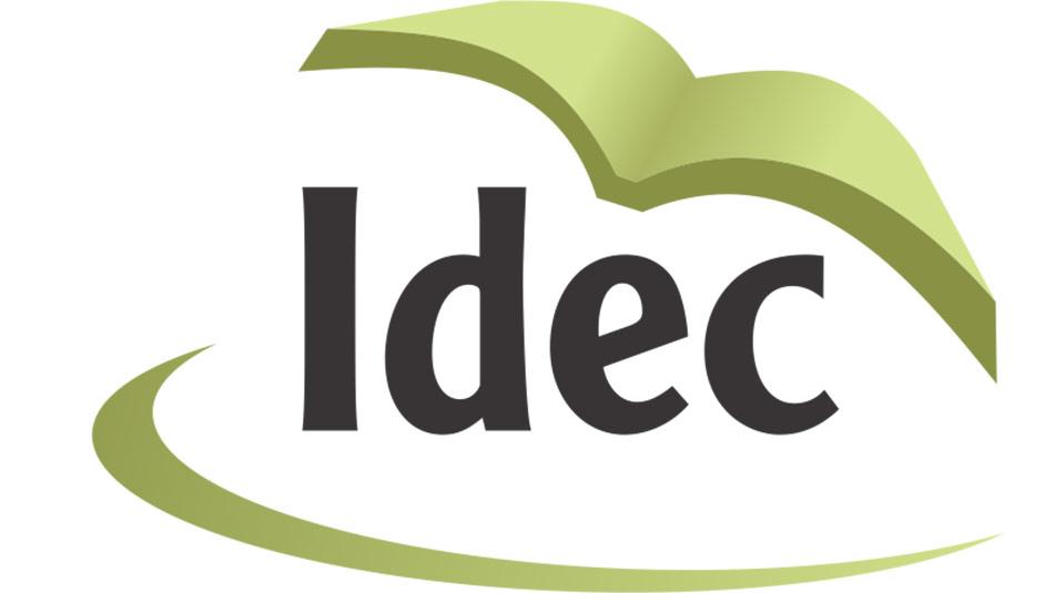 Logo: IDEC – Instituto de Desenvolvimento do Estudante Colportor