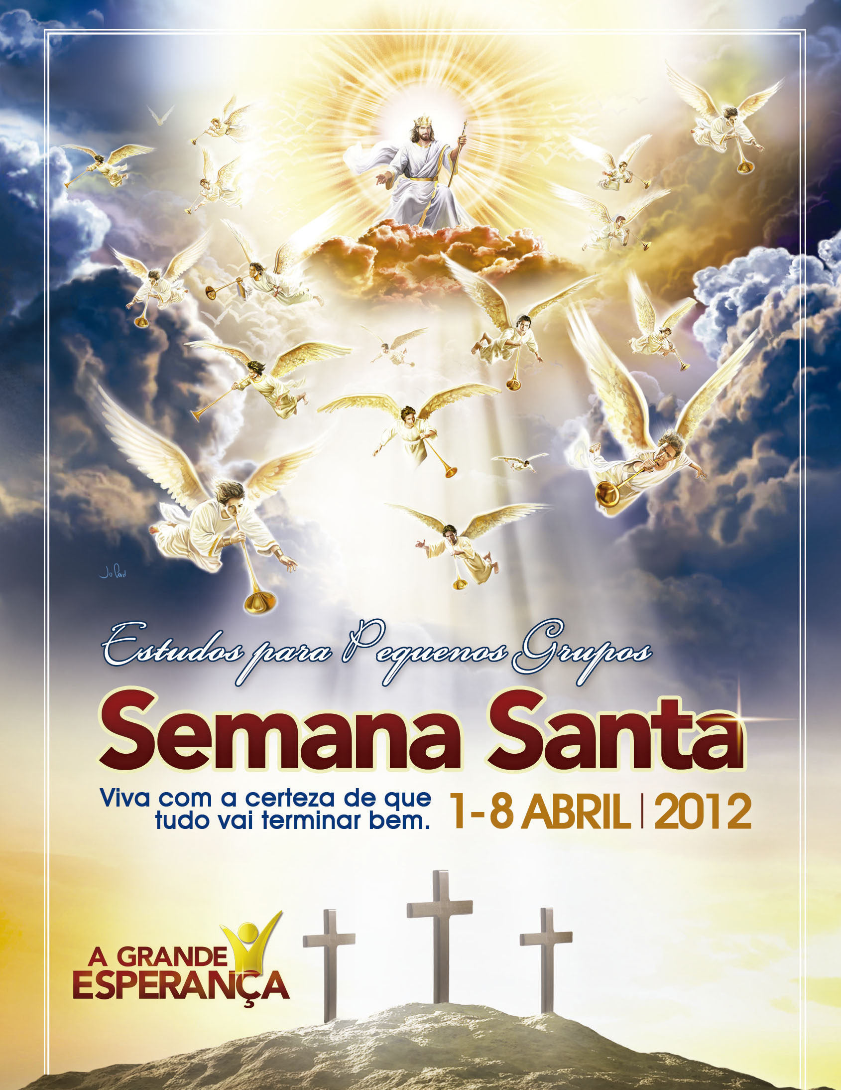 Estudos Bíblicos: Semana Santa 2012