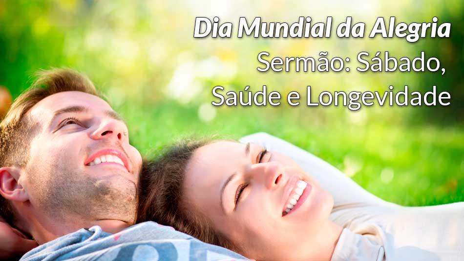 Sermão: Sábado, Saúde e Longevidade