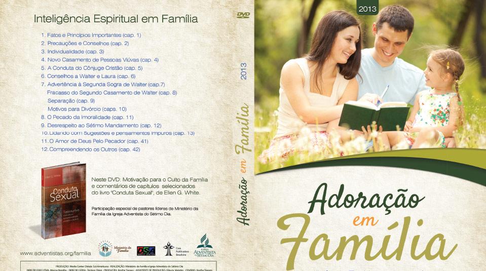 Capa DVD: Adoração em Família 2013