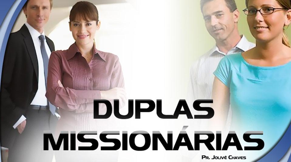 Duplas Missionária #1- Seminário para Treinamento