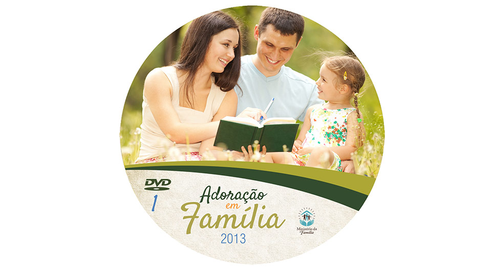 Label DVD: Adoração em Família 2013