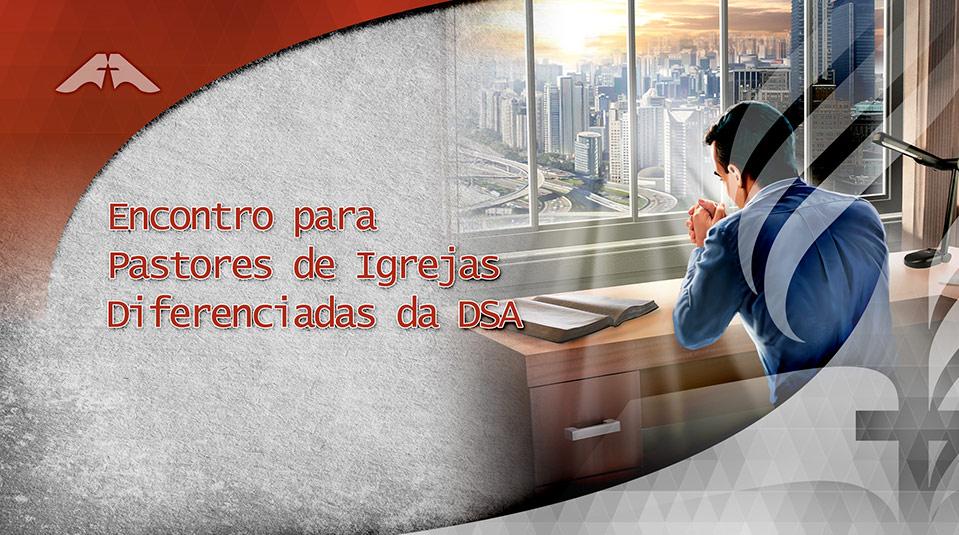 Logo: Encontro de Pastores de Igrejas Diferenciadas DSA 2013