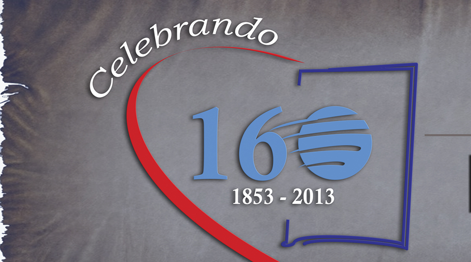 Arte Aberta do logo Celebrando 160 anos da Escola Sabatina