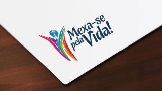 Logotipo: Mexa-se Pela Vida