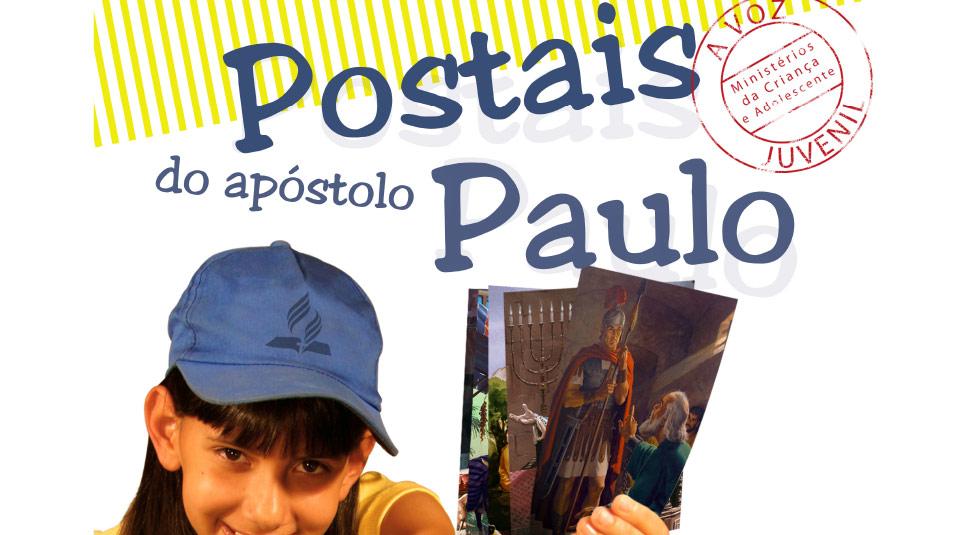 Cartaz: Postais do Apóstolo de Paulo/ Voz Juvenil