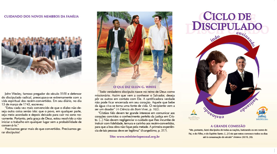 Ciclo de Discipulado – Cuidando dos Novos Membros da Família