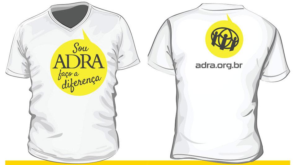 Arte da camiseta – #souADRA