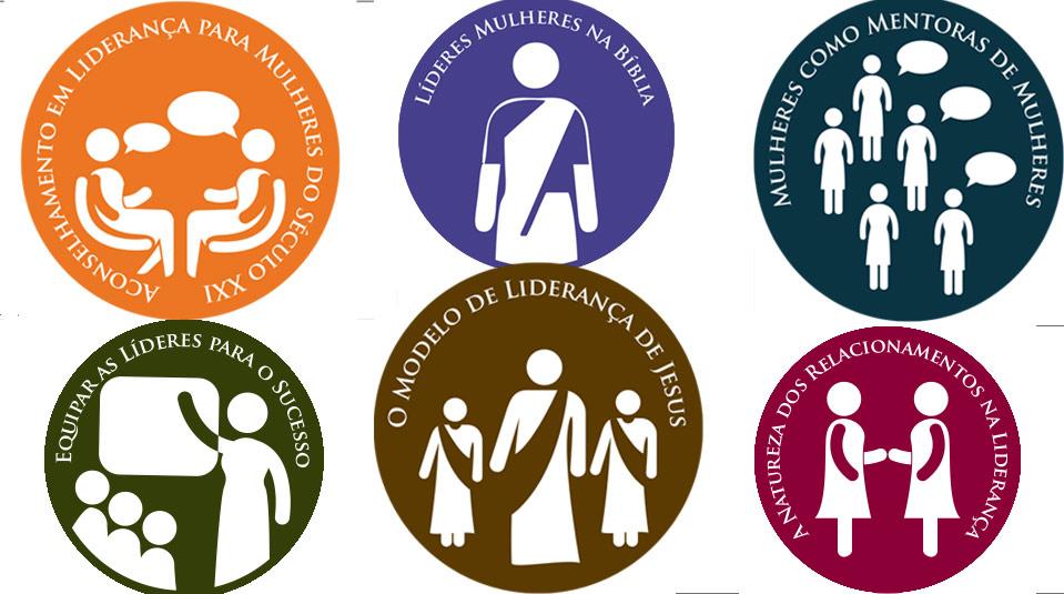 Adesivos: Curso de Liderança para Mulheres nível IV