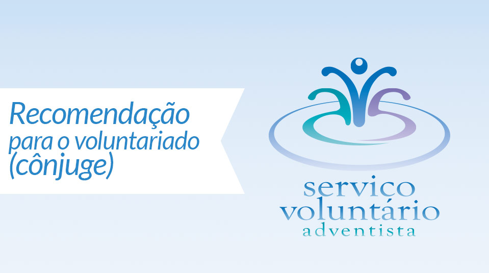 Spouse confidential reference  (Cônjuge: Recomendação para o voluntariado)