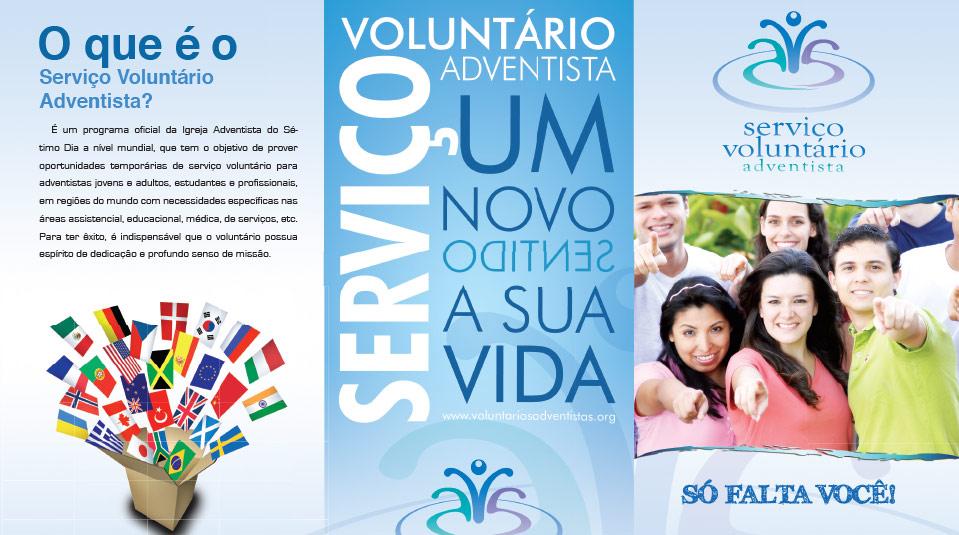 Folder: Serviço Voluntário Adventista