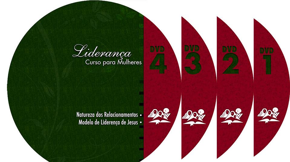 Arte label DVD: Curso de Liderança para Mulheres nível IV