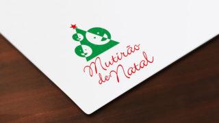 Logotipo Aberto: Mutirão de Natal