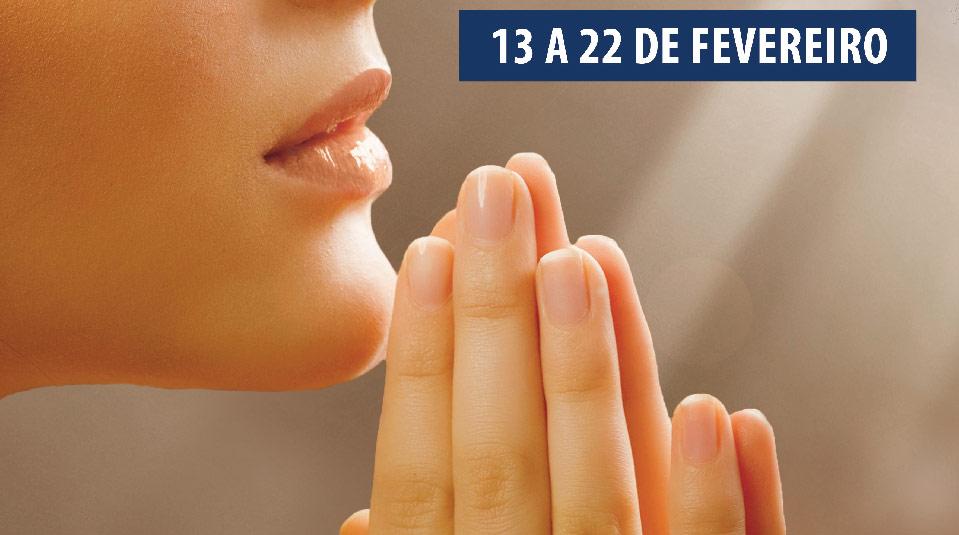 Cartaz aberto: 10 dias de oração e 10 horas de jejum 2014