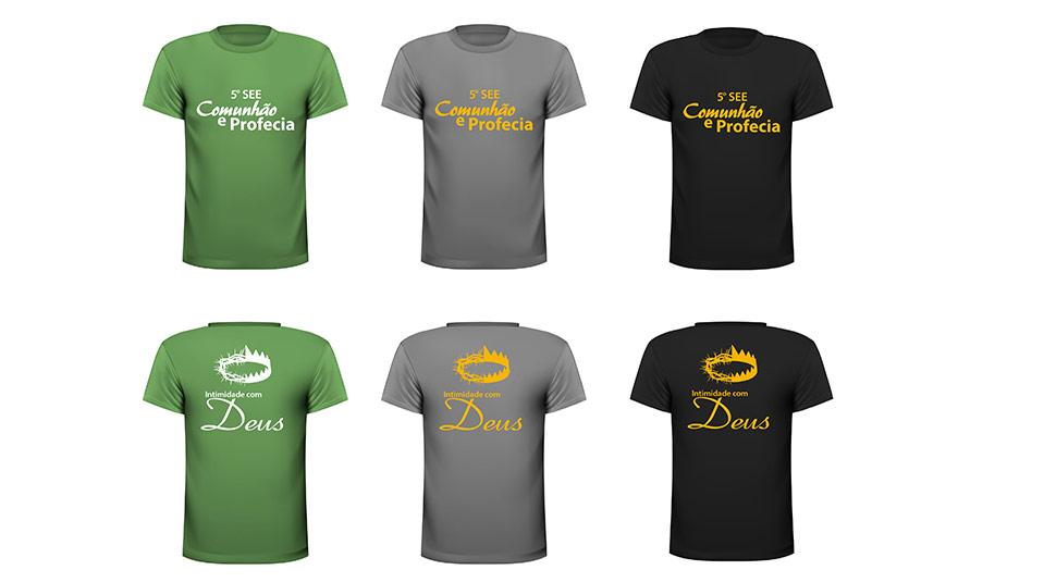 Arte da camiseta: 5º Seminário de Enriquecimento Espiritual