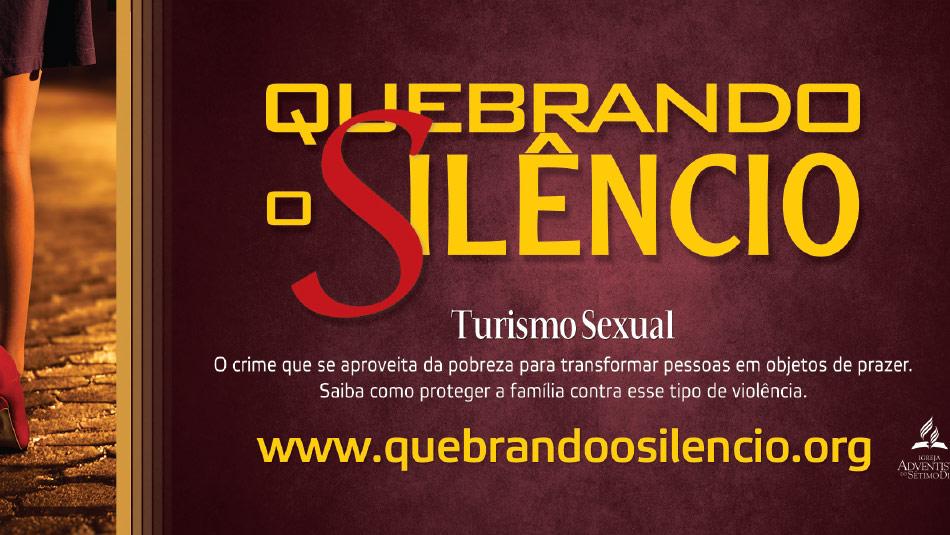 Adesivo: Quebrando o Silêncio 2014