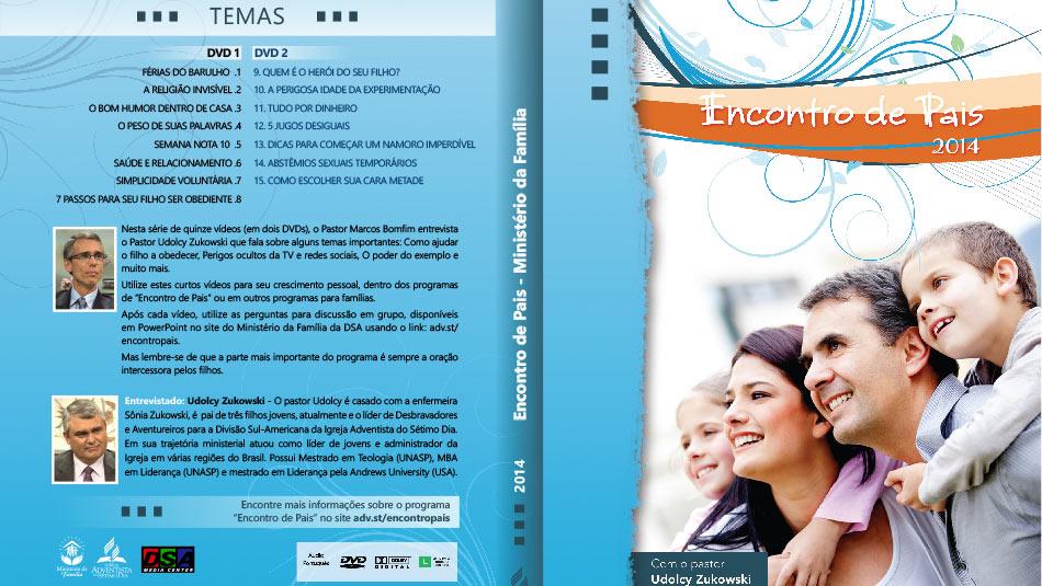 Capa DVD: Encontro de Pais 2014